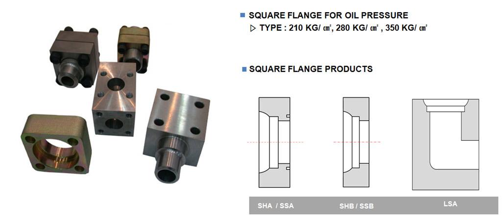 Square Flange