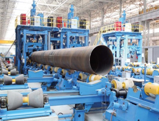 Pipes factory